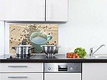 GRAZDesign Küchen Spritzschutz Herd Dampfende