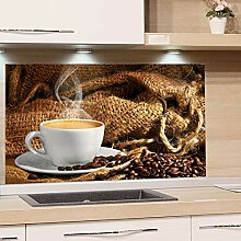 GRAZDesign Küchen Spritzschutz Herd Kaffee Tasse