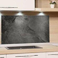GRAZDesign Küchenrückwand Glas Grau | Bild-Motiv