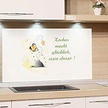 Glasbilder Küche Spritzschutz in vielen Designs online ...
