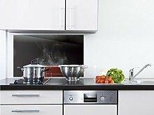 GRAZDesign Küchenspiegel Dampfende Tasse -