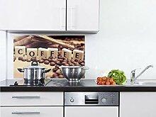 GRAZDesign Küchenspiegel Kaffee - Herdblende