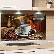 GRAZDesign Küchenspiegel Kaffee Motiv -