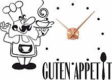 GRAZDesign Küchenuhr Löffel - Wanduhr Küche