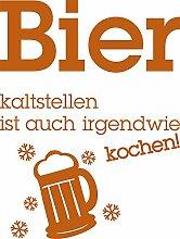 GRAZDesign Kühlschrank Aufkleber Sticker Bier