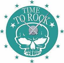 GRAZDesign Moderne Wanduhren Time to Rock -