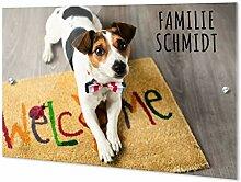 GRAZDesign Personalisierte Türschilder Familie &