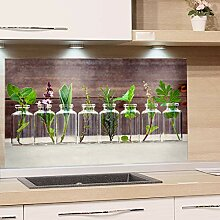GRAZDesign Spritzschutz Glas für Küche, Herd