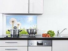 GRAZDesign Spritzschutz Glas für Küche/Herd,