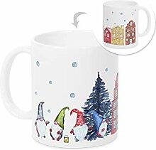 GRAZDesign Tasse Weihnachten Wichteln,