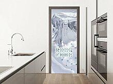 GRAZDesign Türfolie selbstklebend Eisschrank -