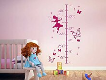 GRAZDesign Wandsticker Babyzimmer Deko Messlatte