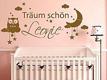 GRAZDesign Wandtattoo - Aufkleber über Kinderbett