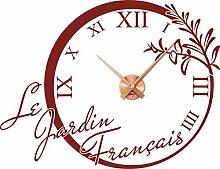 GRAZDesign Wandtattoo Uhr Küche & Esszimmer