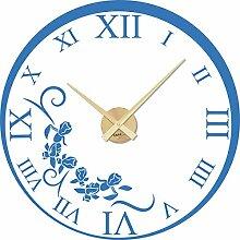GRAZDesign Wanduhr Aufkleber Nostalgie - Uhren