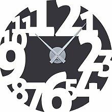 GRAZDesign Wanduhr Aufkleber Zahlen Groß - Uhren