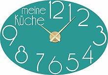GRAZDesign Wanduhr Küche Meine Küche -