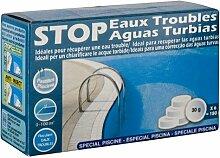 Gre 90143–Stop Wasser Trüb sind, 6Tabletten 30g