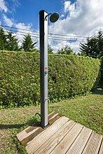 Gre DSPS35 Solar-Gartendusche mit Fußabdruck,