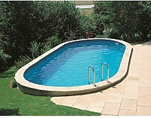 Gre KPEOV8127 – Pool oval interrata Dim: 800 x 470 H 120