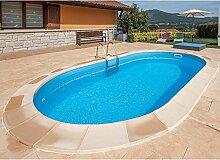 GRE Madagascar KPEOV5059 Pool, Stahl, oval