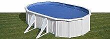 Gre Pool-Set Bora Schwimmbecken Schwimmbad Leiter Sandfilter 500x350cm KITPROV5