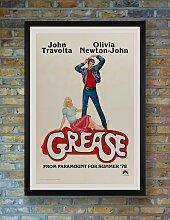 Grease US Filmposter von Linda Fennimore, 1978
