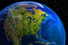 great-art Fototapete Amerika am Tag – Bildtapete