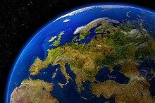 great-art Fototapete Europa am Tag – Bildtapete