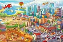 GREAT ART Fototapete Kinderzimmer – Comic Style