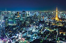 great-art Fototapete Tokyo City - 210 x 140 cm