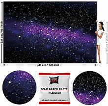 GREAT ART Fototapete Universum Weltall 336 x 238
