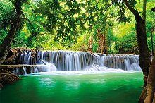 great-art Fototapete Wasserfall - 336 x 238 cm