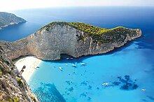great-art Fototapete Zakynthos Strand Griechenland