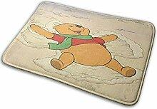 Greatbe Welcome Tür Teppich Cute Winnie Indoor