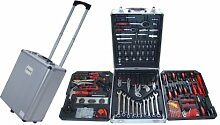 GrecoShop Werkzeugtrolley, bestückt, 187 Teile