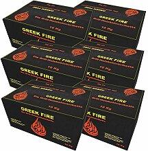 Greek Fire Holzkohle Briketts 6X 10 kg