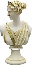 greekartshop Artemis Diana Büstenkopf griechische