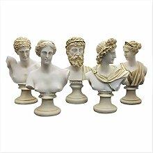 greekartshop Göttlicher Büstenkopf Zeus Artemis