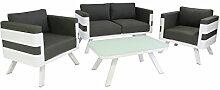 greemotion Alu Lounge-Set St. Tropez, 4-teilig,