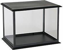 greemotion Kerzenhäuschen, 35x25x26 cm, schwarz, 124388
