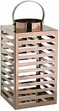 greemotion Metall-Laterne kupferfarben, ideal für