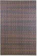 greemotion Rattanwand Sichtschutz braun 180 x 120