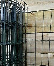 Green Blade BB-CW131Gartenzaun 10x 0,9m PVC beschichtet Zaun–Grün