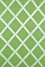 Green Decore Diamond Kunststoff-Teppich für