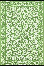 Green Decore Grün Deko-wendbar-leicht Kunststoff