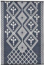 Green Decore Kansas Teppich, Kunststoff, wendbar,