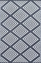 Green Decore Kunststoff-Teppich, grün für