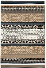 Green Decore Teppich, Kunststoff, wendbar, leicht,