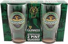 Green Guinness Gläser 2er Se